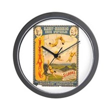 Masterly Monarchs Of The Air Wall Clock