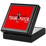 Troublemaker Keepsake Box