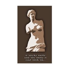 If You're Happy, Venus Decal
