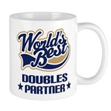Doubles Tennis Partner Gift Mug