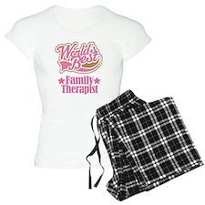 Family Therapist Gift Pajamas