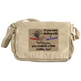 Crabby Messenger Bag