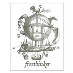 Freethinker Small Poster
