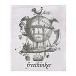 Freethinker Throw Blanket