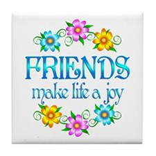 Friendship Joy Tile Coaster