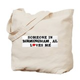 Someone in Birmingham Tote Bag