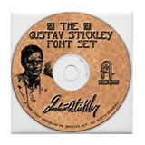 Gustav Stickley Craftsman Font Set
