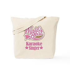 Karaoke Singer Gift Tote Bag