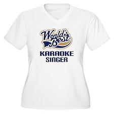 Karaoke Singer Gift T-Shirt