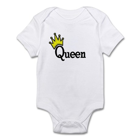 Queen Infant Creeper