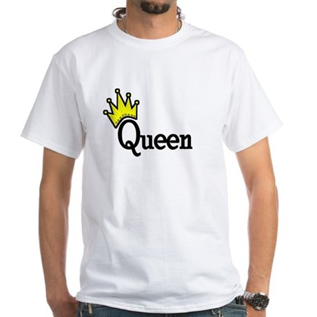 Queen White T-Shirt