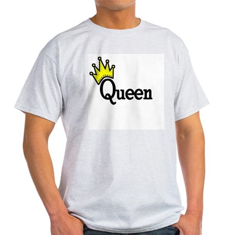 Queen Ash Grey T-Shirt