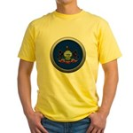 Round Flag - Pennsylvania Yellow T-Shirt