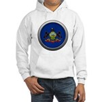 Round Flag - Pennsylvania Hooded Sweatshirt