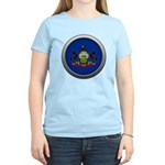 Round Flag - Pennsylvania Women's Light T-Shirt