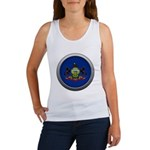 Round Flag - Pennsylvania Women's Tank Top