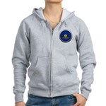 Round Flag - Pennsylvania Women's Zip Hoodie