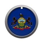 Round Flag - Pennsylvania Round Ornament (Round)