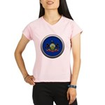Round Flag - Pennsylvania Women's Performance Dry T-Shirt