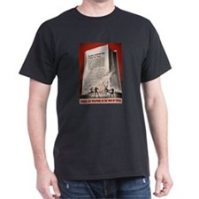 """Books cannot be killed by fi Black T-Shirt"