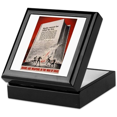 """Books cannot be killed by fi Keepsake Box"