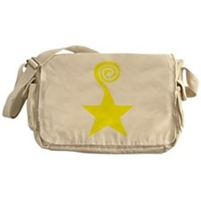 Star Swirl Messenger Bag