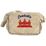 Cambodia Colors Messenger Bag