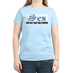 Sex Now Women's Pink T-Shirt