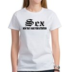 Sex Now Women's T-Shirt