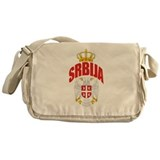 Serbia Messenger Bag