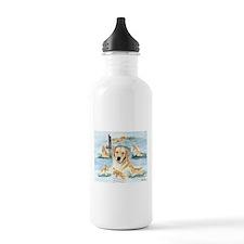 The Versatile Golden Water Bottle