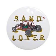 Sand Lover Dune Buggy Ornament (Round)