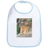 Golden Dock Dog Bib