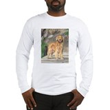 Golden Dock Dog Long Sleeve T-Shirt