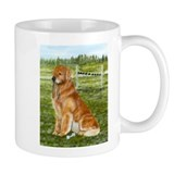 Golden Obedience Small Mug