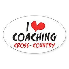 I heart Coaching C-C Stickers