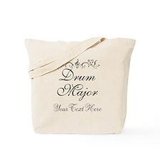 Personalized Drum Major Tote Bag