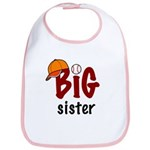 Big Sister - Baseball Bib