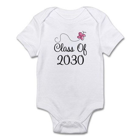 Pink Future Class of 2030 Infant Bodysuit