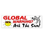 Ask The Sun! Sticker (Bumper)