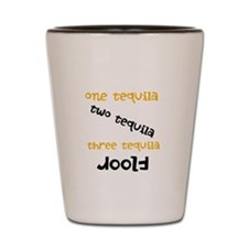 One tequila..two tequila...