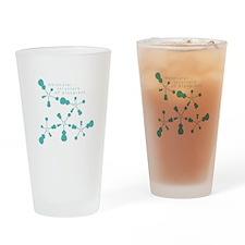 Molecular Structure of Bluegr Drinking Glass