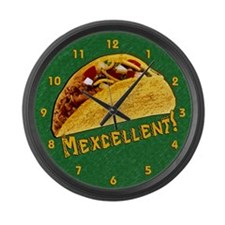 Mexcellent Large Wall Clock