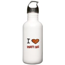 Funny Pasta Water Bottle