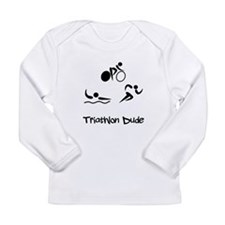 Triathlon Dude Long Sleeve Infant T-Shirt