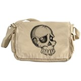 Skull Sketch Messenger Bag