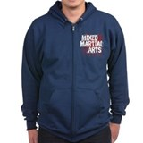 Mixed Martial Arts Zip Hoody
