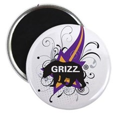 Grizzly Grizz Magnet