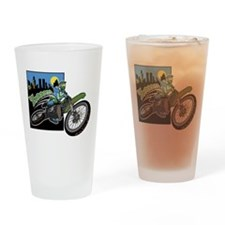 Zooom - Dirt Bike Drinking Glass