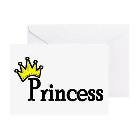 Princess Greeting Cards (Pk of 10)